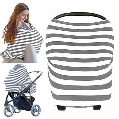keababies Multipurpose Stretchy Carseat Canopy, Nursing, High Chair, Cart Cover