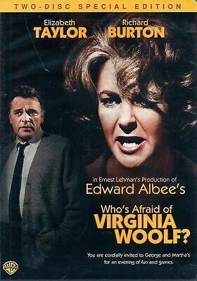 Whos Afraid of Virginia Woolf (DVD, 2006, 2-Disc Set, Special Edition)