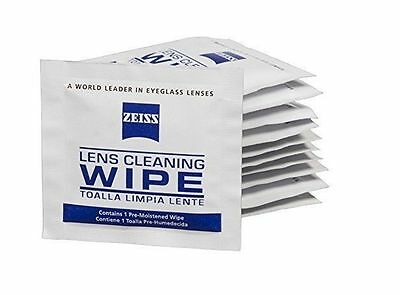Zeiss Pre-Moistened Lens Cleaning Wipes 10 Pieces