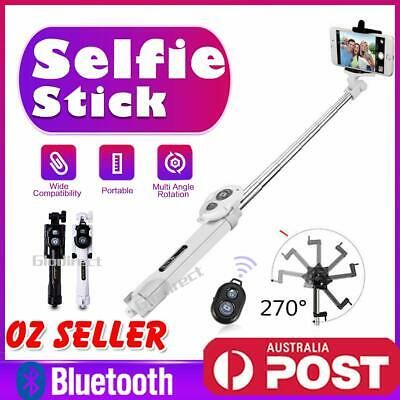 Unipod Bluetooth Selfie Stick Tripod Handheld Shutter Remote For iPhone Android