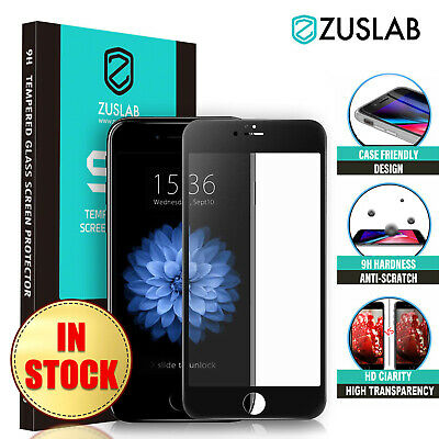 iPhone 8 Plus iPhone 7 Plus 6 S Zuslab Tempered Glass Screen Protector For Apple