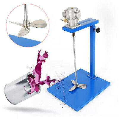 5 Gallon Pneumatic Mixer With Stand Paint Mixer Stainless Steel Mix Tool TOP
