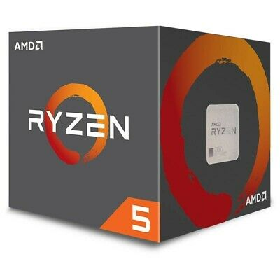 AMD Ryzen 5 2600X CPU 4.25GHz AM4 CPU 6 Core 95W with Wraith Spire Cooler Fan
