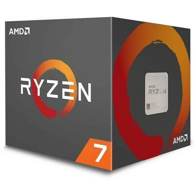 AMD Ryzen 7 2700 CPU 8 Cores 16 Threads AM4 4.1GHz With Wraith Spire LED Cooler