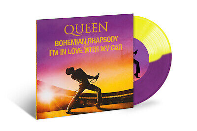 "Queen Bohemian Rhapsody/I'm In Love With My Car Vinile 7"" Colorato Rsd 2019"