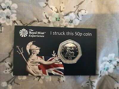 2019 Strike Your Own SYO Britannia Fifty Pence 50p Royal MINT Uncirculated