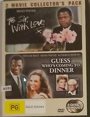 To Sir With Love, Guess Who's Coming To Dinner DVD (2 discs) R4 Sidney Poitier