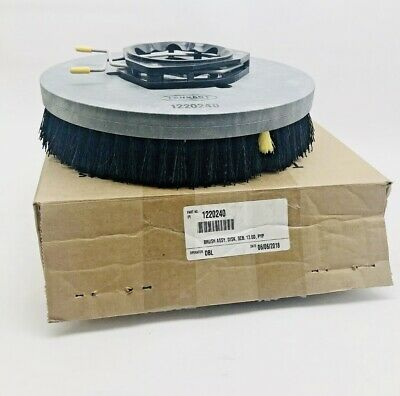Tennant 1220240 Brush Assy Disc Scrub 13.0D, Pyp