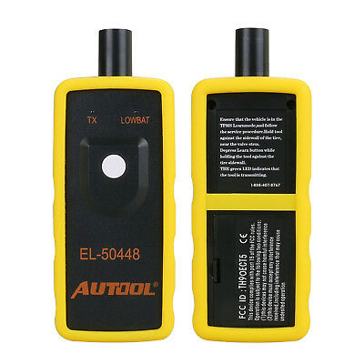 EL-50448 TPMS Reset Car Tire Pressure Monitor Sensor Activation Tool 315/433MHz