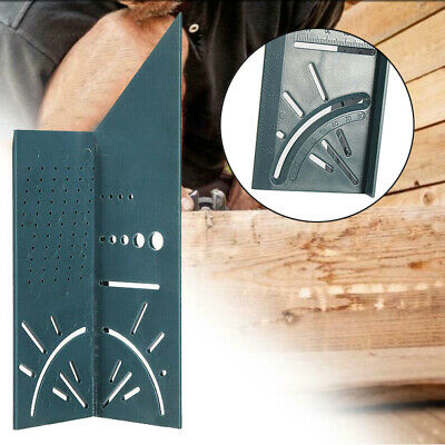 3D Measuring Gauge Ruler Square Mitre Angle Size Measure For wood working