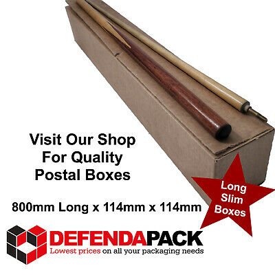 5 LONG SLIM STRONG Cardboard Packing Posting Storage Shipping Box POSTAL BOXES