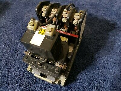 Square D 8903-LL0-20 Series B LIGHTING CONTACTOR 1, 2, or 3 pole 20 amp, LL0-20