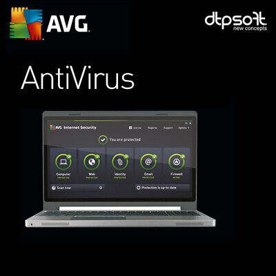 AVG AntiVirus 2020 - 1 PC  - 1 YEAR - 2019 AU