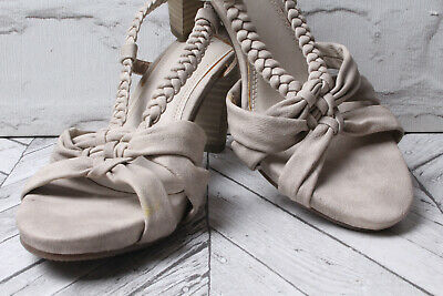 MARCO TOZZI PARTY Holiday Sandals RRP £49 Beige Stone Block