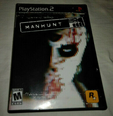 Manhunt (Sony PlayStation 2, 2003) Tested and Plays Well