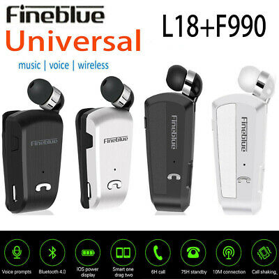 Fineblue L18 F990 Wireless Bluetooth Headset Earphone For iPhone Samsung KY