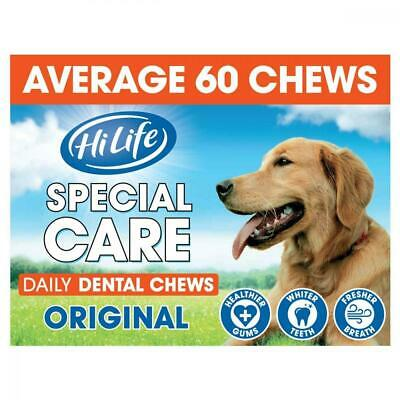 HiLife Special Care Daily Dental Dog Chews Original, 1 kg Bulk Box, 1kg