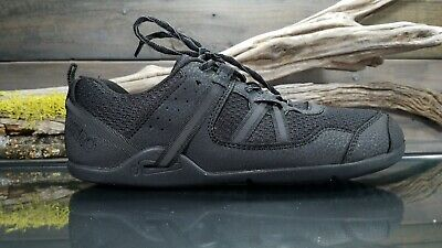 separation shoes 52e62 aa664 XERO PRIO WOMENS Sz 8 US Black Minimalist Running Athletic Trail Sneakers  Shoes