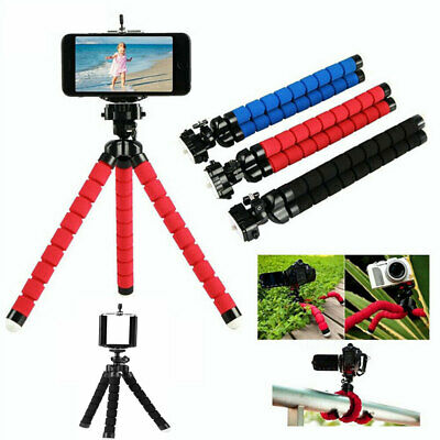 Universal Mini Octopus Tripod Stand For Digital Camera Mobile Phone Gopro UK