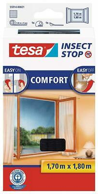 tesa 55914-00021-00 Insect Stop Hook and Loop Comfort For Windows,...