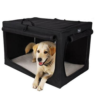 Petsfit Indoor Dog House Soft Fabric Crate for Medium to Large Dogs, Black...