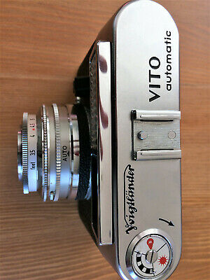 Voigtlander Vito Automatic 35mm camera and case - VGC - Fully Working Order.