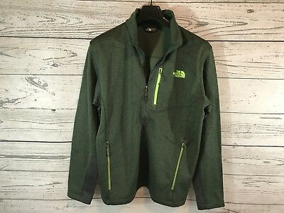 044244898 THE NORTH FACE Mens Green Canyonland Timber Full Zip Jacket Size Large NWT