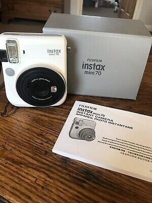 Fujifilm Instax White Mini 70 Instant Camera