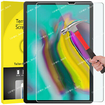 """Tempered Glass Guard Screen Protector For Samsung Galaxy Tab S5e 10.5"""" T720 T725"""