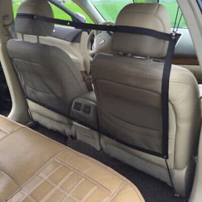 UK Car Pet Dog Net Mesh SUV Truck Auto Vehicle Back Seat Safety Net Mesh Barrier