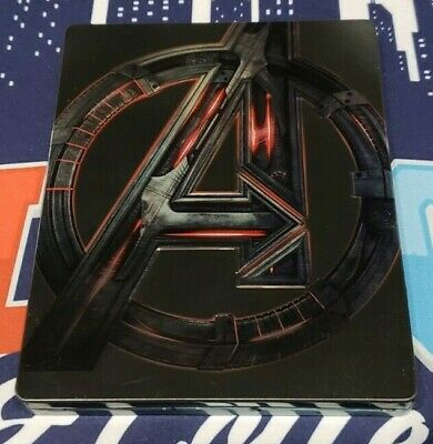 Avengers: Age of Ultron Steelbook (Ultron Cover) 3D | Blu-Ray (No Digital)