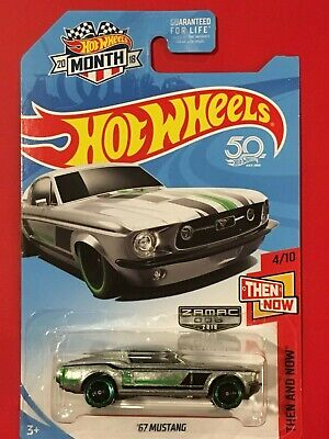 2018 Hot Wheels 50th Anniversary '67 Mustang *ZAMAC* *Then And Now*