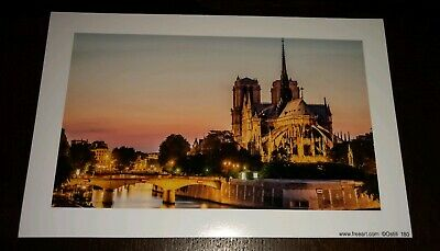 France, Paris, NOTRE-DAME CATHEDRAL,  Souvenir Print, Paris Veiw 4X6