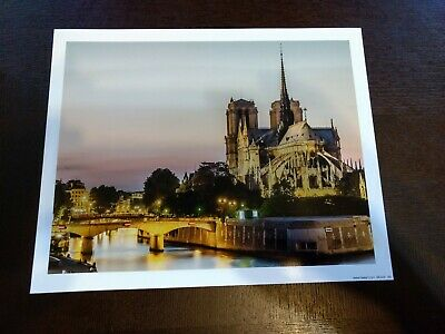 France, Paris, NOTRE-DAME CATHEDRAL,  Souvenir Print, Paris Veiw 8X10