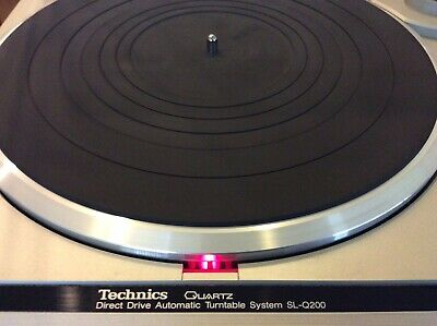 Technics  SL-Q200 Direct Drive Automatic Turntable System w/ Stylus Untested