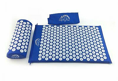 Acupressure Mat Improves Blood Circulation Relief from Back Neck Head Shoulder