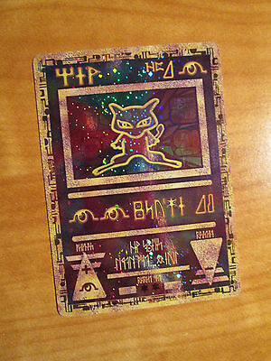 NM Ancient Mew Promo Pokemon The Movie 2000 Card Ultra Rare Holo Giapponese US