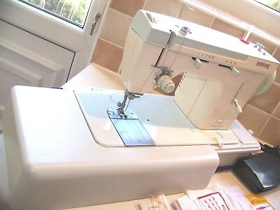 The Famous Singer Merritt Panoramic Heavy Duty Sewing Machine,Expertly Serviced