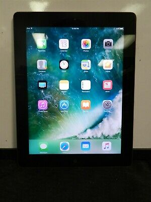 "Apple iPad 4th Gen 9.7"" 16GB Wi-Fi MD510LL/A A1458 iOS 10.3.3"