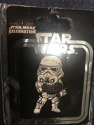 Star Wars Celebration 2017  Exclusive Storm Trooper Pin - New In Package