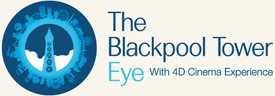 2 Tickets to Blackpool Tower Eye & Blackpool Tower Dungeon any day until 30/9/19
