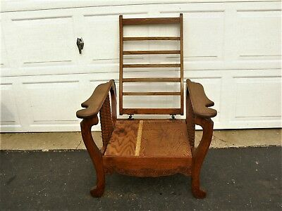 SALE!!! Vintage Morris Reclining Mission Arts and Craft Chair