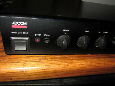 ADCOM GFP 555 II Preamplifier / Preamp. Used, works great!