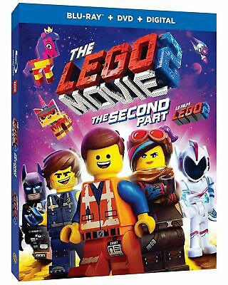 The Lego Movie 2: The Second Part - Blu-ray + DVD + Digital (2019) BRAND NEW