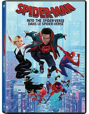 Spider-man: Into The Spider-verse - DVD Brand New