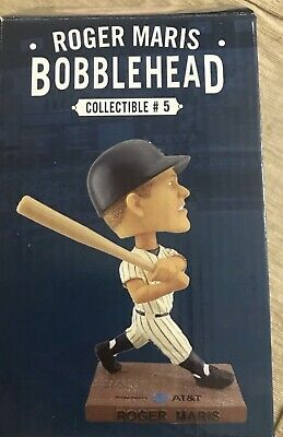 Roger Maris New York Ny Yankees Bobblehead Figurine Sga 10/1/2016 Yankee Stadium