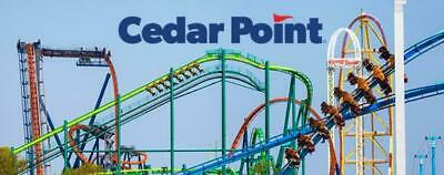 Cedar Point  2 E-Tickets Delivered instantly $49.99