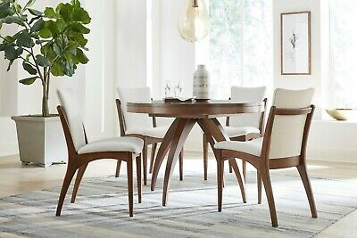 Cool Amish Modern Mid Century Trestle Dining Table Set 7 Pc Caraccident5 Cool Chair Designs And Ideas Caraccident5Info