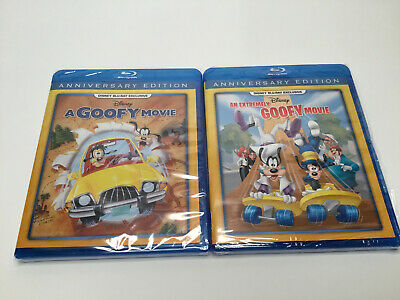 A Goofy Movie and An Extremely Goofy Movie New on Blu ray - Free Shipping