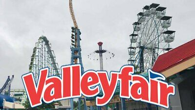 Valleyfair Amusement Park 2 E-Tickets Delivered instantly $49.99